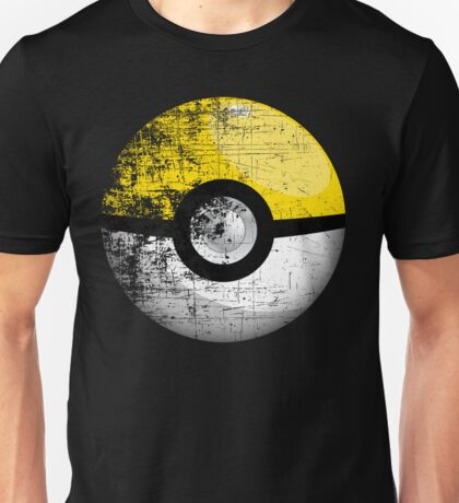Destroyed Pokemon Go Team Yellow Pokeball Unisex T-Shirt