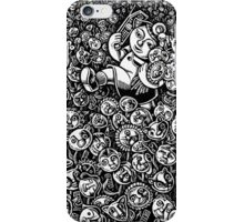 Girl in Field of Friendly Flowers Chatting on Phone iPhone Case/Skin