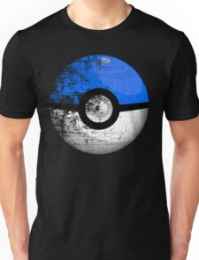 Destroyed Pokemon Go Team Blue Pokeball Unisex T-Shirt