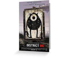 District INC Greeting Card