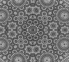 Gray Mosaic Sticker