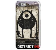 District INC iPhone Case/Skin