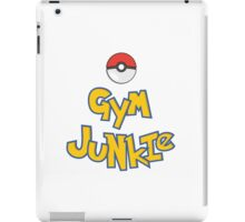 Gym Junkie iPad Case/Skin