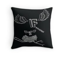 NESTED IF Throw Pillow