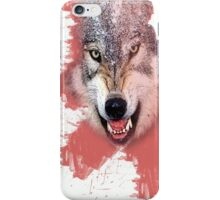 the wolf iPhone Case/Skin