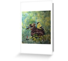 Sweet chatter Greeting Card