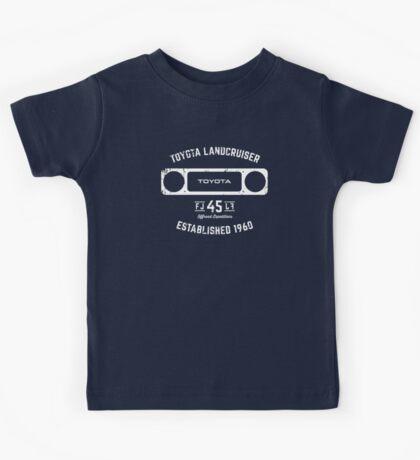Toyota 40 Series Landcruiser FJ45 Square Bezel Est. 1960 Kids Tee