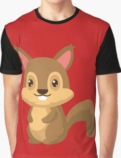 Squirrel Graphic T-Shirt