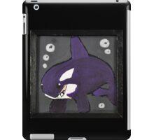 Moody Little Orca iPad Case/Skin