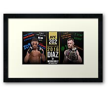 Diaz McGregor Framed Print