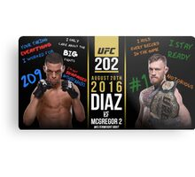Diaz McGregor Metal Print