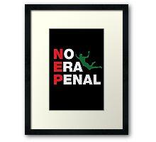 No Era Penal MX 2014 - NEP Framed Print