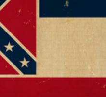 Mississippi State Flag VINTAGE Sticker