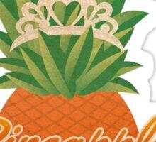 Pineapple Princess Sticker