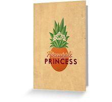 Pineapple Princess Greeting Card