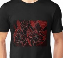 Neon Aussie autumn leaves  Unisex T-Shirt