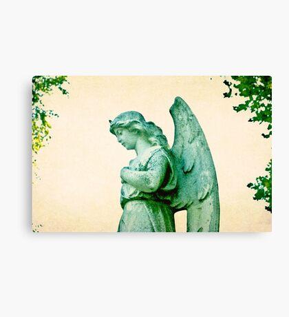 Patina Angel Canvas Print
