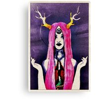 Purple Witchy Woman  Canvas Print
