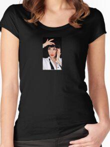 Tuxedo Girl Women's Fitted Scoop T-Shirt