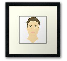 Elon Musk - Assembled Framed Print