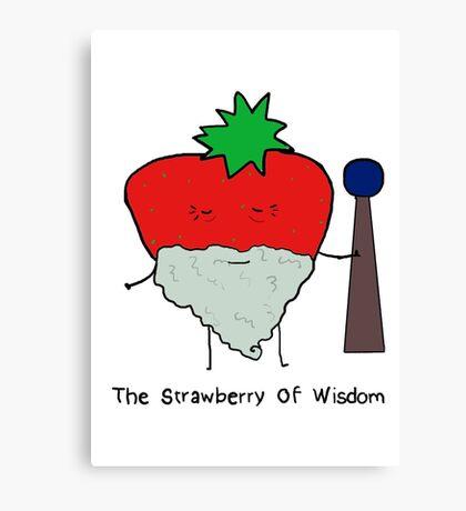 Strawberry of Wisdom Canvas Print