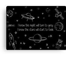 Twenty One Pilots Stars - Music Canvas Print
