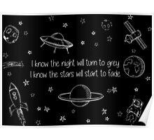 Twenty One Pilots Stars - Music Poster