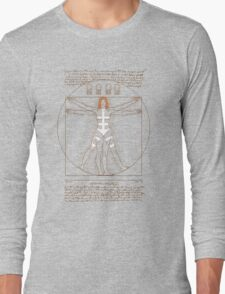 Vitruvian Leeloo Long Sleeve T-Shirt