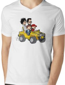Hitting Queens Boulevard Mens V-Neck T-Shirt