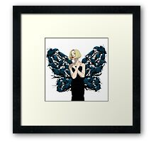 The Butterfly Girl Framed Print