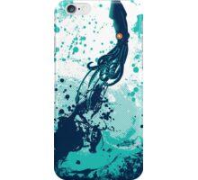 Squid Splash iPhone Case/Skin