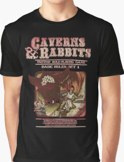 Caverns And Rabbits Graphic T-Shirt