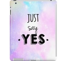 Zoella - Just Say Yes! Zoe Sugg iPad Case/Skin