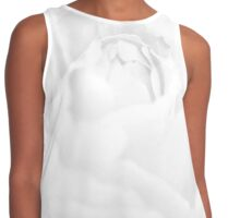 Rose - pure white Contrast Tank