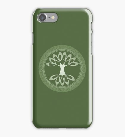 Tree of Life - apple green iPhone Case/Skin