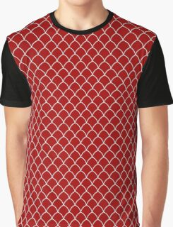 SMALL SCALES RED Graphic T-Shirt