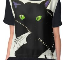 the cat from the true lives of the fabulous killjoys Chiffon Top