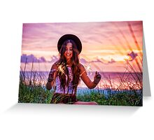 PEACEFULNESS  Greeting Card