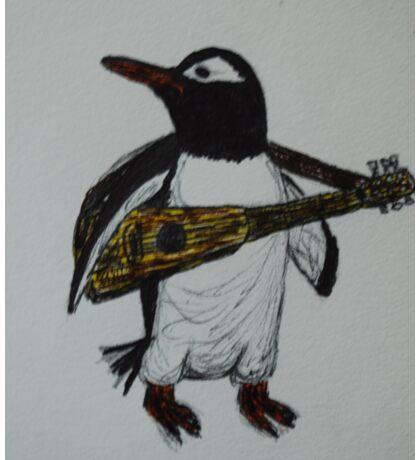 Signature Penguin Sticker