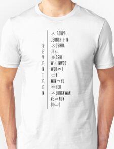 seventeen ot13  Unisex T-Shirt