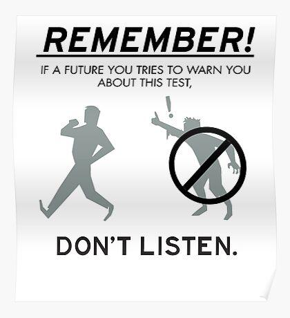 Remember! Poster