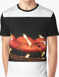 Candles Graphic T-Shirt