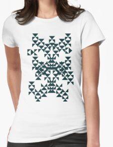 geometric pattern 1 Womens Fitted T-Shirt