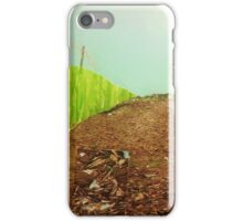 Countryside farmland collage  iPhone Case/Skin
