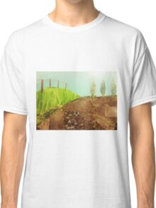Countryside farmland collage  Classic T-Shirt