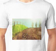 Countryside farmland collage  Unisex T-Shirt