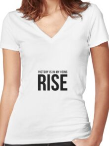 RISE - Katy Perry Women's Fitted V-Neck T-Shirt