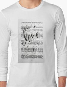 Love In Words Long Sleeve T-Shirt