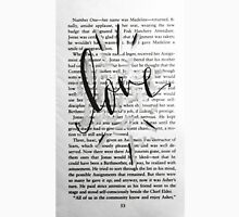 Love In Words Unisex T-Shirt