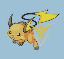 Raichu - Team Instinct Kids Tee